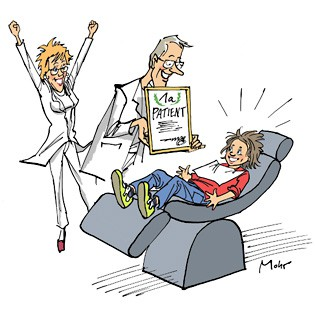 Lob an Patienten
