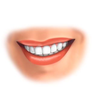 Lobtemplate Perfektes Lächeln